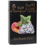 "Табак для кальяна Al Ajamy Gold 50 гр ""Ice Peach Mint"" (альаджами)"
