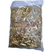 Фурнитура основа для броши цвет золото 1000 шт/уп 2 размер 25 мм