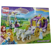 Конструктор Princess Leah (2605) на 374 детали Violet Carriage
