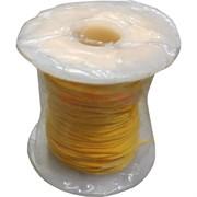 Нить для рукоделия желтого цвета 200D 50 м