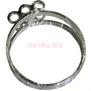 Кольцо основа под камень, бисер и т.д. (три колечка)