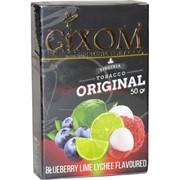 Табак для кальяна GIXOM 50 гр «Blueberry Lime Lychee»
