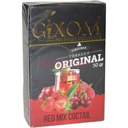 Табак для кальяна GIXOM 50 гр «Red Mix Coctail»