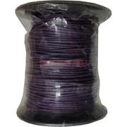 Нитка для рукоделия 1 мм 60 м фиолетовая