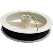 Струна для рукоделия черная 100 м 0,35 мм