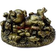 Свинка с животными гороскопа (NS-516) символ года