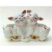 Свинки влюбленные (NS-505) из фарфора