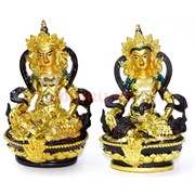 Тара полистоун (NS-287) под золото 2 цвета