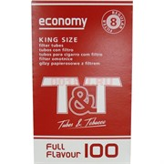 Гильзы сигаретные T&T King Size 100 шт