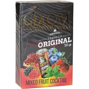 Табак для кальяна GIXOM 50 гр «Mixed Fruit Cocktail»