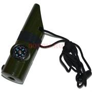 Компас фонарик термометр свисток
