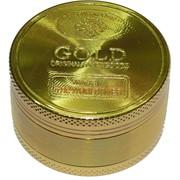 Гриндер под золотую монету Gold