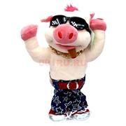 Игрушка музыкальная (AJ-307) Свинка в очках на 3 песни