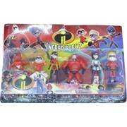 Суперсемейка 2 набор из 6 фигурок