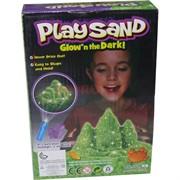 Кинетический песок светящийся с формочками малый