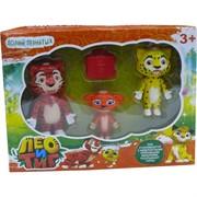 Лео и Тиг набор из 3 фигурок