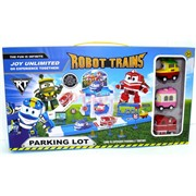 Robot Trains парковка (AJ-224) роботы поезда Parking Lot