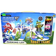 Robot Trains парковка (AJ-222) роботы поезда Parking Lot