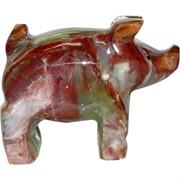 Свинки из оникса 5 дюймов символ 2019 года