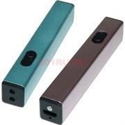 Зажигалка USB разрядная квадратная 5 цветов
