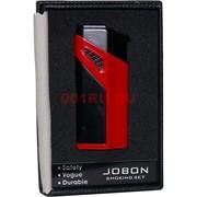 Зажигалка Jobon газовая турбо двухцветная 3 огня