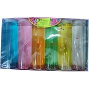Лизун большой 420 гр (8718) прозрачный цветной 48 шт/кор