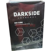 Уголь для кальяна Darkside 72 шт 1 кг 25 мм