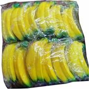 Сквиши «связка бананов» 12 шт/уп