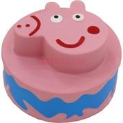 Сквиши «Свинка торт» 12 шт/уп