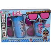 Кукла LOL Surprise для мальчиков в тубе с очками (набор из 2)