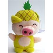 Свинка мягкая игрушка (Pig-22) с присоской 12 шт/уп
