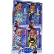 Кукла Frozen большая 4 шт/уп