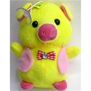 Свинка мягкая игрушка (Pig-21) с присоской 12 шт/уп