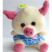 Свинка мягкая игрушка (Pig-17) с присоской 12 шт/уп
