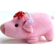 Свинка мягкая игрушка (Pig-27) с присоской 24 шт/уп