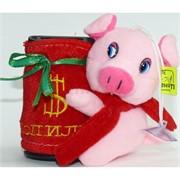 Свинка копилка с присоской (Pig-32) музыкальная 12 шт/уп
