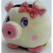 Свинка копилка с присоской (Pig-34) музыкальная 12 шт/уп