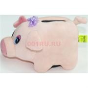 Свинка копилка с присоской (Pig-33) музыкальная 12 шт/уп
