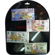 Магнит денежная купюра 24 шт/уп симол года Свинья