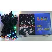 Гирлянда 100 LED ламп 10 м разноцветные