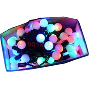 Гирлянда «шарики» 100 LED ламп 10 м разноцветные