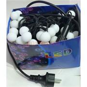Гирлянда уличная «шарики» 100 LED ламп 10 метров
