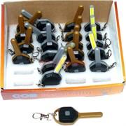 Фонарик брелок «ключ» с батарейками 24 шт/уп