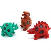 Динозавры лизуны с гидрогелем 12 шт/уп