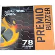 Premio Buzzer для калауда уголь кокосовый 78 шт 1 кг