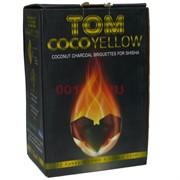 Tom Coco Yellow желтый уголь для кальяна 25 мм 72 кубика