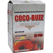 Уголь для кальяна Coco-Buzz 72 кубика 1 кг