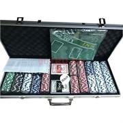 ProPoker набор для игры 500 фишек 11,5 г в алюминиевой коробке