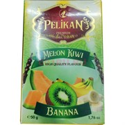 Табак для кальяна Pelikan 50 гр «Melon Kiwi Banana»