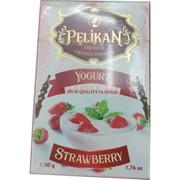 Табак для кальяна Pelikan 50 гр «Yoghurt Strawberry»
